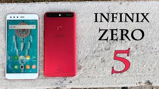 Infinix ZERO 5 - A Worthy Flagship Killer! | Complete review gameplay camera