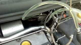 Diesel System Purge Opel Zafira 2L