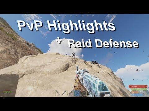 Rust PvP Highlights + Quick Solo Raid Defense thumbnail