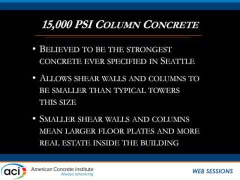 The Successful Use of High-Strength Concrete in United States High-Rise Buildings