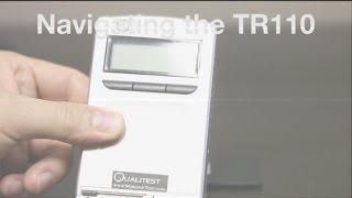 Qualitest's Portable Surface Roughness Tester - TR110 - Navigating the TR110(The Portable Surface Roughness Tester - TR110 Qualitest offers extensive range of advanced surface roughness testers such as Portable Surface Roughness ..., 2014-07-08T12:54:13.000Z)