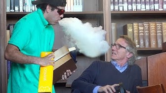 Aggressively Vaping in Peoples Faces