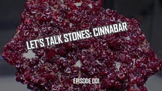 Let's Talk Stones: Cinnabar Loose Beads & Benefits (001)