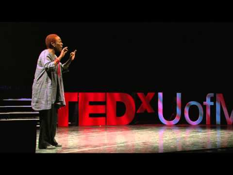 Untapped Fierceness/My Giant Leaps: Gina A. Ulysse at TEDxUofM