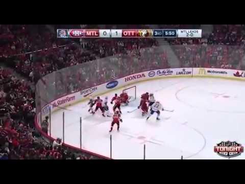 Kevin Raphael commente un match des Canadiens de Montréal (Haïti style)
