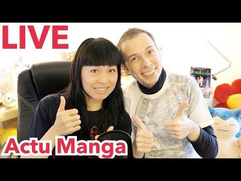 LIVE #1 | Actualités manga | 1ère Diffusion en direct de Rosalys