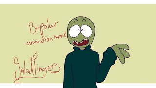 Bi-Polar - Animation meme remake - Salat-mit den Fingern (FlipaClip) (FLASH WARNUNG)