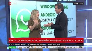 Whatsapp: desde el 1 de julio no se podrá usar en algunos celulares