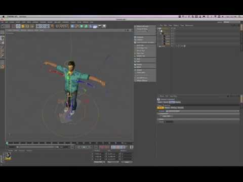 cinema 4d r13 character rigging tutorial youtube. Black Bedroom Furniture Sets. Home Design Ideas