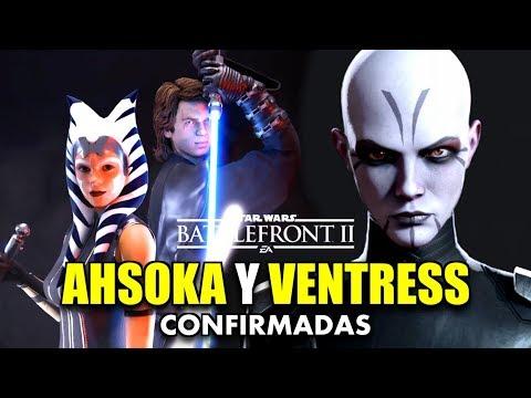 AHSOKA TANO y ASAJJ VENTRESS CONFIRMADAS   STAR WARS BATTLEFRONT 2 thumbnail