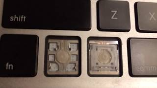 MacBook Air early 2014 key assembly