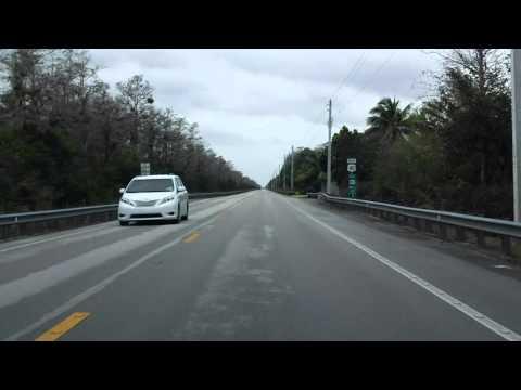 Tamiami Trail (US 41 from Naples to Miami) eastbound (Part 7/9)
