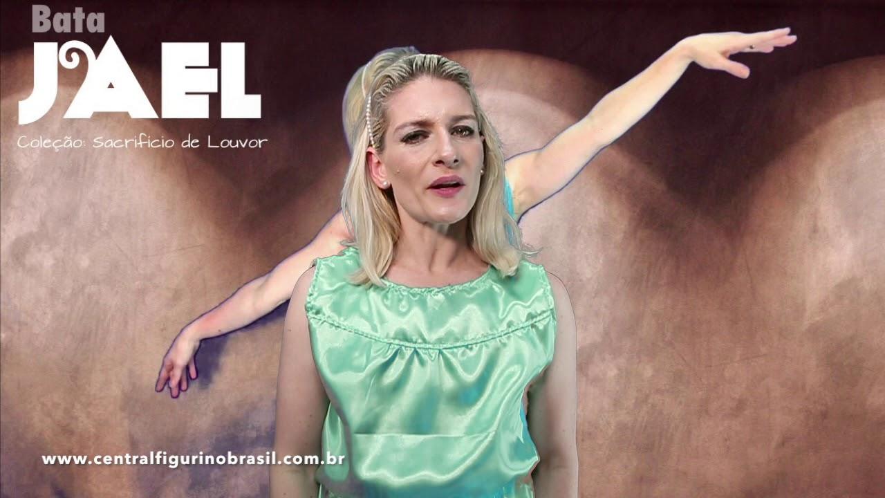 5b19782133 Bata JAEL I CENTRAL FIGURINO BRASIL I Pastora Carol Bassi - YouTube