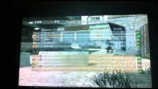 Description QG sur Crash - COD4 WII