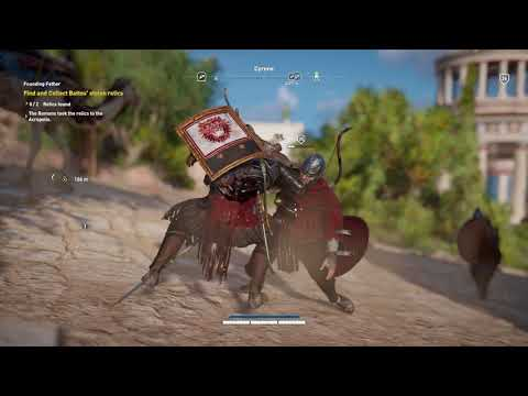 Assassin's Creed: Origins - Founding Father: Investigate Closed Tomb: Find & Collect Battos Relics