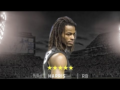 Nation's top recruit Najee Harris plans to just show up at school of choice