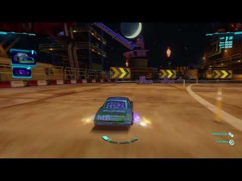 Cars 2: The Video Game | Chick Hicks - Pipeline Sprint | WhitePotatoYT!