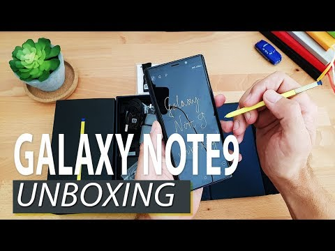 Samsung Galaxy Note9 [Unboxing]