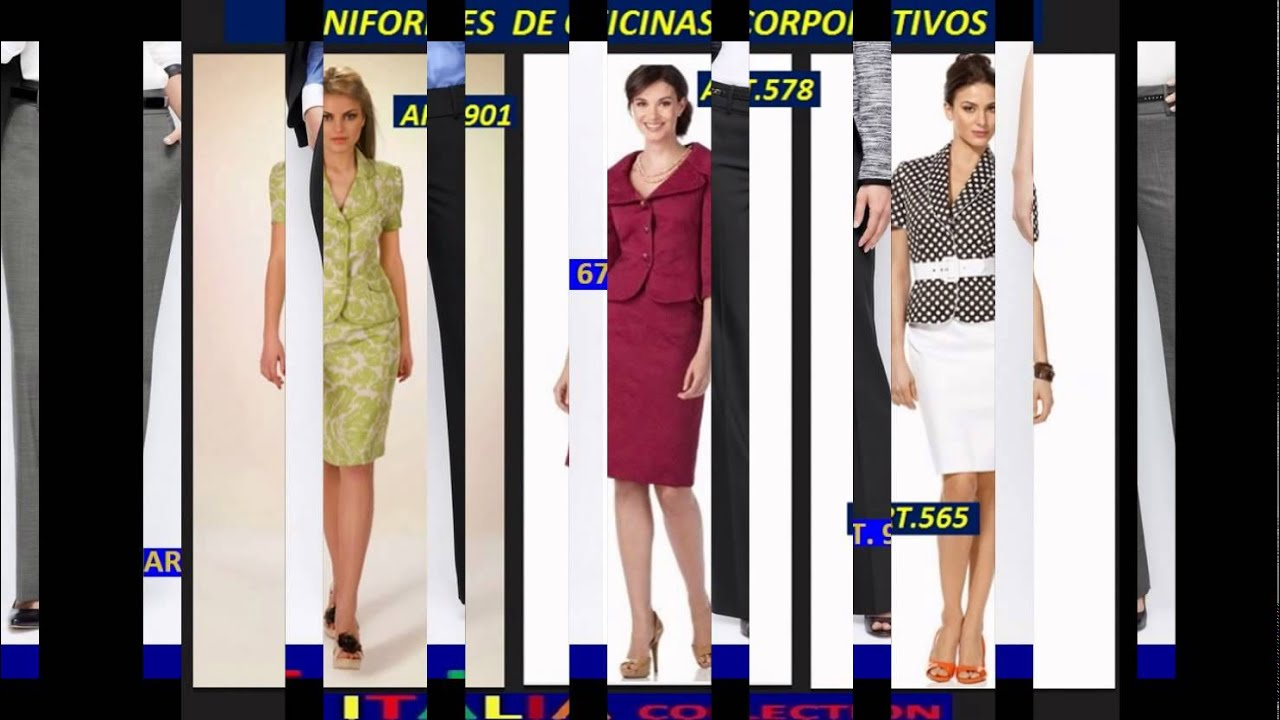 6492b285a UNIFORMES SECRETARIALES 2016 by ITALIA COLLECTION UNIFORMES DE OFICINAS  EJECUTIVOS
