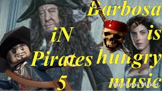 Barbossa Is Hungry Music In Pirates 5 And Behind The Scenes