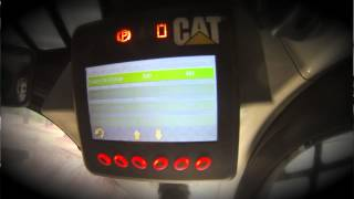 Advanced Display on the Cat® D Series Skid Steer, Multi Terrain and Compact Track Loaders (2013)