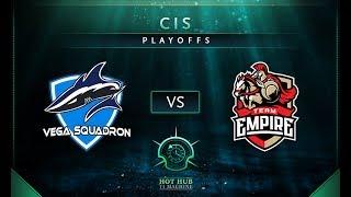 Vega vs Empire Game 1 - TI7: CIS Regional Qualifiers Playoffs - @TobiWan @Fogged