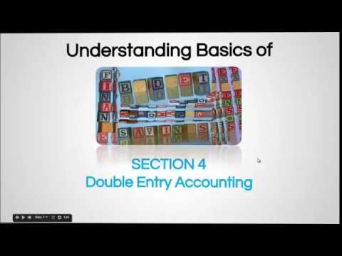Double Entry Accounting - Finance For Non-Financial Personnel