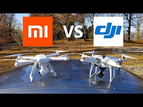 XAIOMI MI Drone vs DJI Phantom 4 Pro - KEN HERON