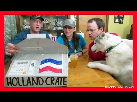HOLLAND CRATE | Taste Test | Foods from Holland