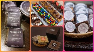 Beautiful Brownie Packing & Gift Boxes idea's