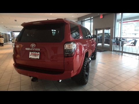 Part9 2017 4runner trd pro cement switchback turning for City motors knoxville tn