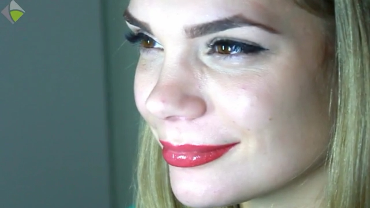 Permanent Makeup Lips Berlin Aquarelle Technique