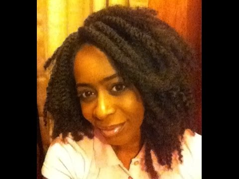 Crochet Hair Model Model : Crochet braids ft. Model Model Chunky Twist Braid hair - YouTube