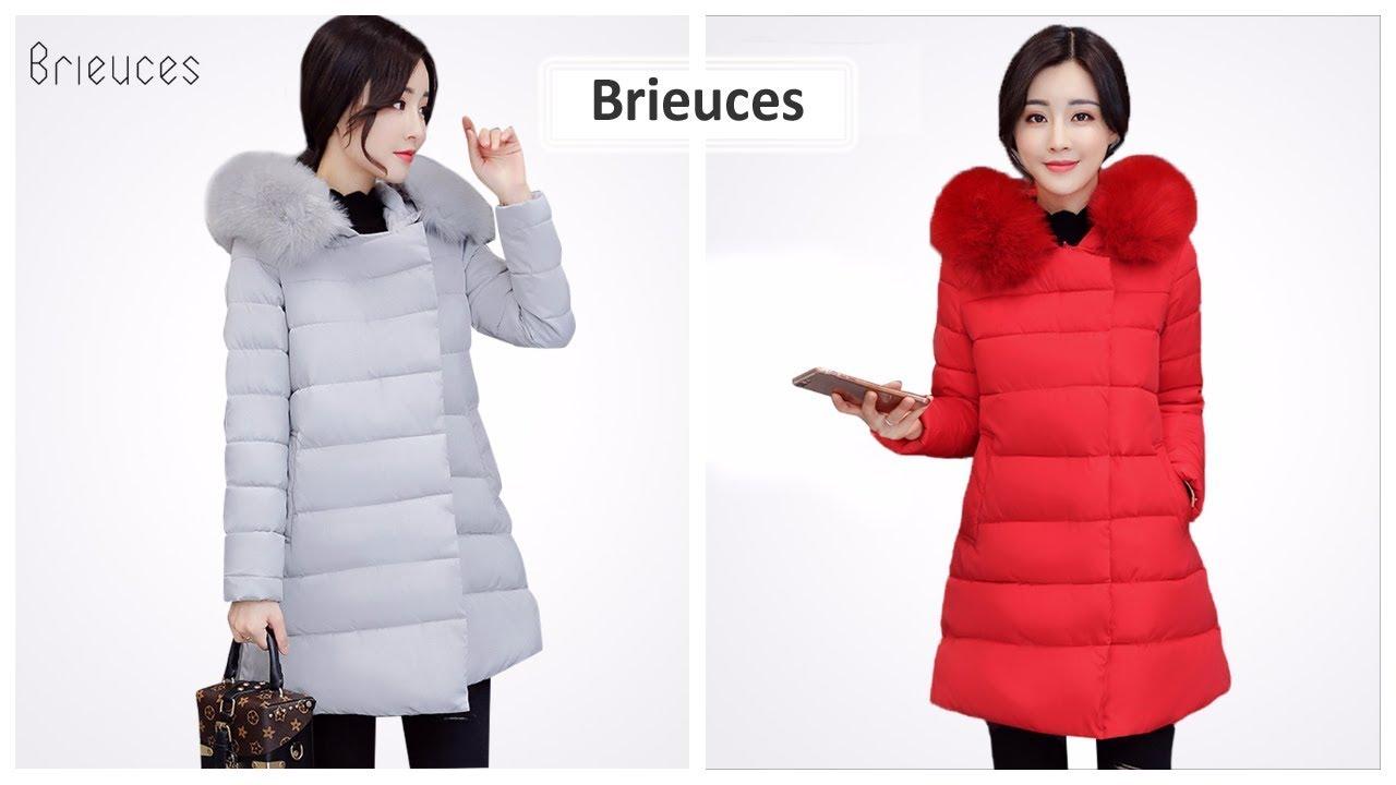 Верхняя одежда с Aliexpress - Swredmi Модная женская куртка с .