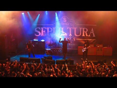"""SEPULTURA """"Sepulnation"""" - Circo Voador - Lapa, RJ, Brasil (2015)"""