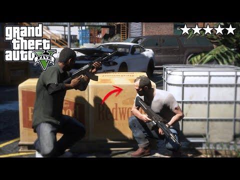 GTA 5|ATAQUE Y EMBOSCADA MILITAR - SWAT - EL FINAL|EdgarFtw thumbnail