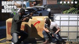 GTA 5 ATAQUE Y EMBOSCADA MILITAR - SWAT - EL FINAL EdgarFtw