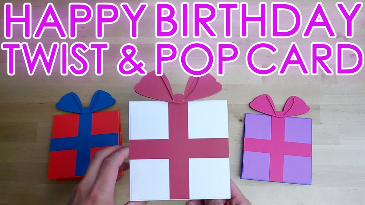 Pop Up Birthday Card Template from i.ytimg.com