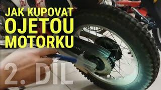 Jak koupit ojetou motorku? Díl Nr.2 z Vintage Garage