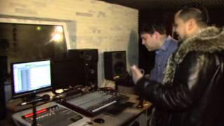 Буша Гоман и  Don Mo при записи трека на студии, ноябрь 2014г