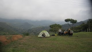 North and South America Motorcycle Adventure on BMW GS, E02: Bogota, Colombia to Quito, Ecuador