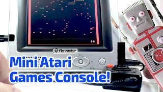 2006 ATARI VIDEO GAMES CONSOLE Working Miniature by Basic Fun (+ More Mini TV Sets!)