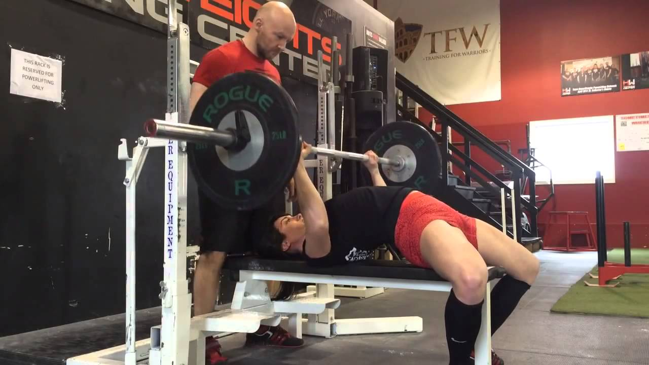 bench press powerlifting