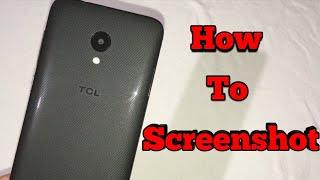 TCL LX - How To Screenshot!!!
