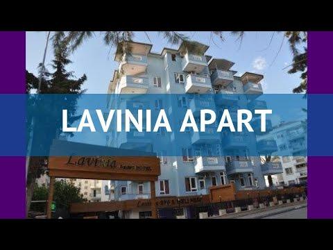 LAVINIA APART 3* Турция Алания обзор – отель ЛАВИНИА АПАРТ 3* Алания видео обзор