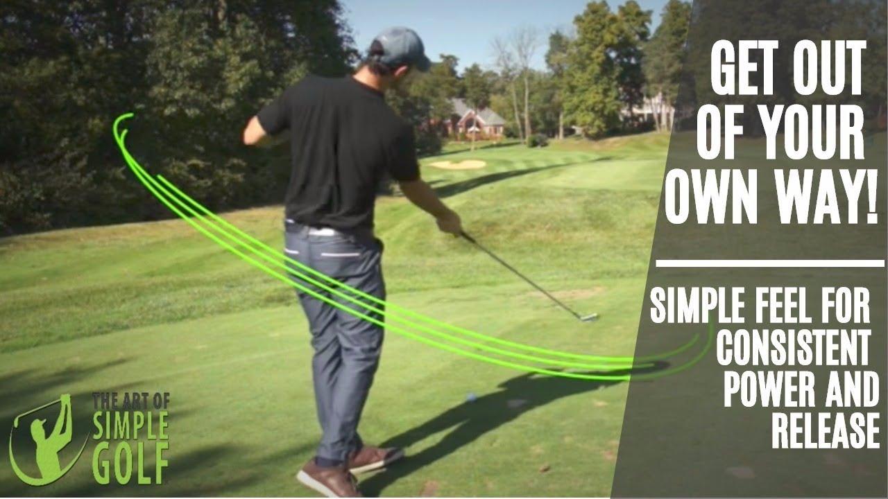 Simple Golf Swing Feel