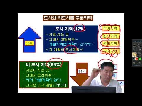 [박준호 교수의 국토개발론 동영상 강좌]  농지 특강 -1편-
