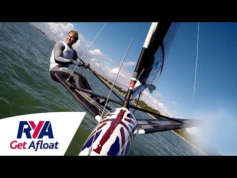 Enjoy the Silence - Moth Sailing with Champion Chris Rashley - Get Afloat with the RYA