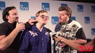 Trailer Park Boys at eOne Party talking about the release of Season 8 on Netflix