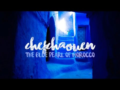 CHEFCHAOUEN. THE BLUE PEARL OF MOROCCO.